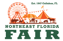 NE Florida fair Logo
